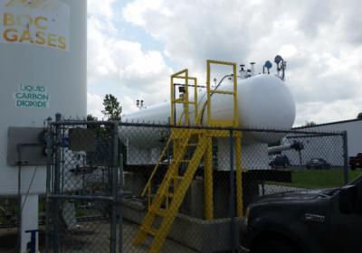 boc gases tank