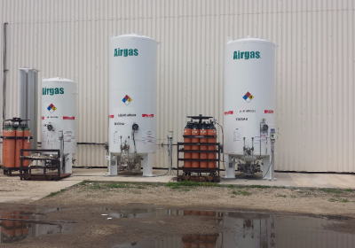 airgas tanks