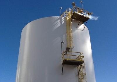 cryogenic tank fireproofing