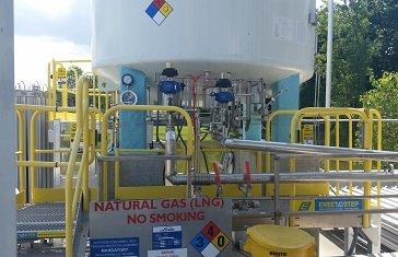fireproofing cryogenic tank