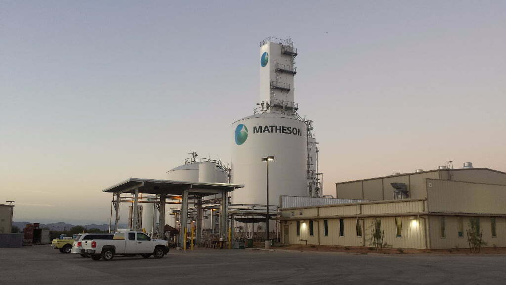 matheson tank