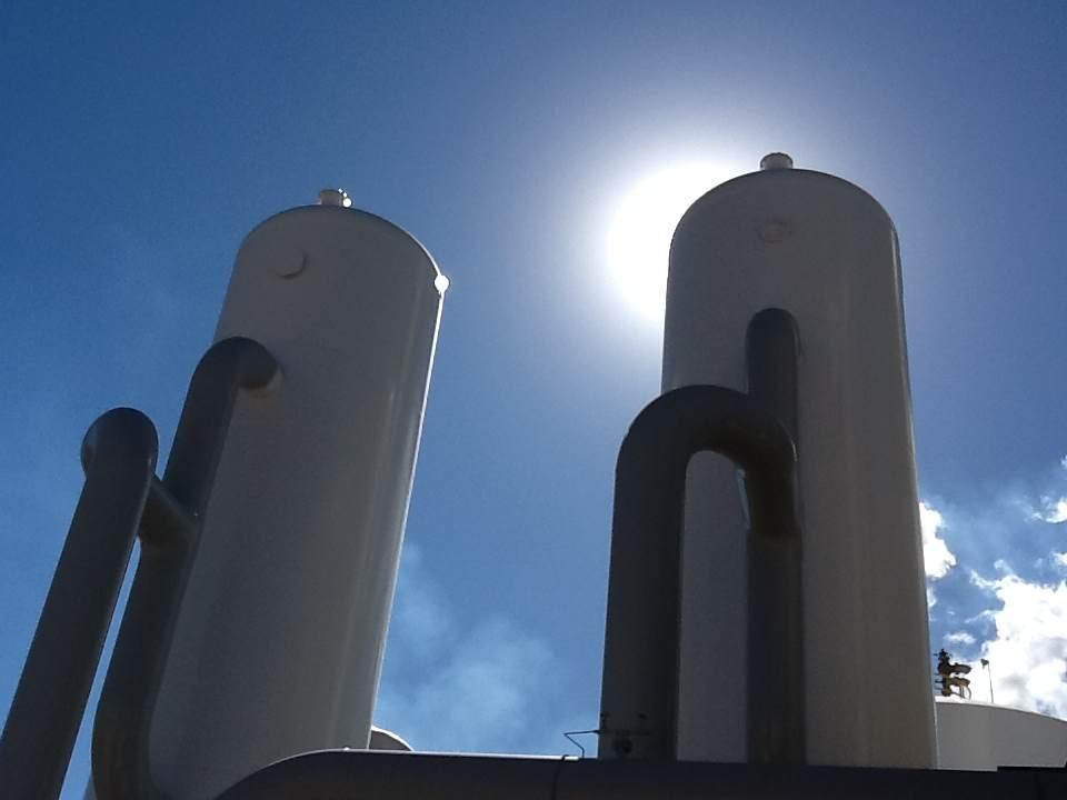 Twin Creeks air separation unit