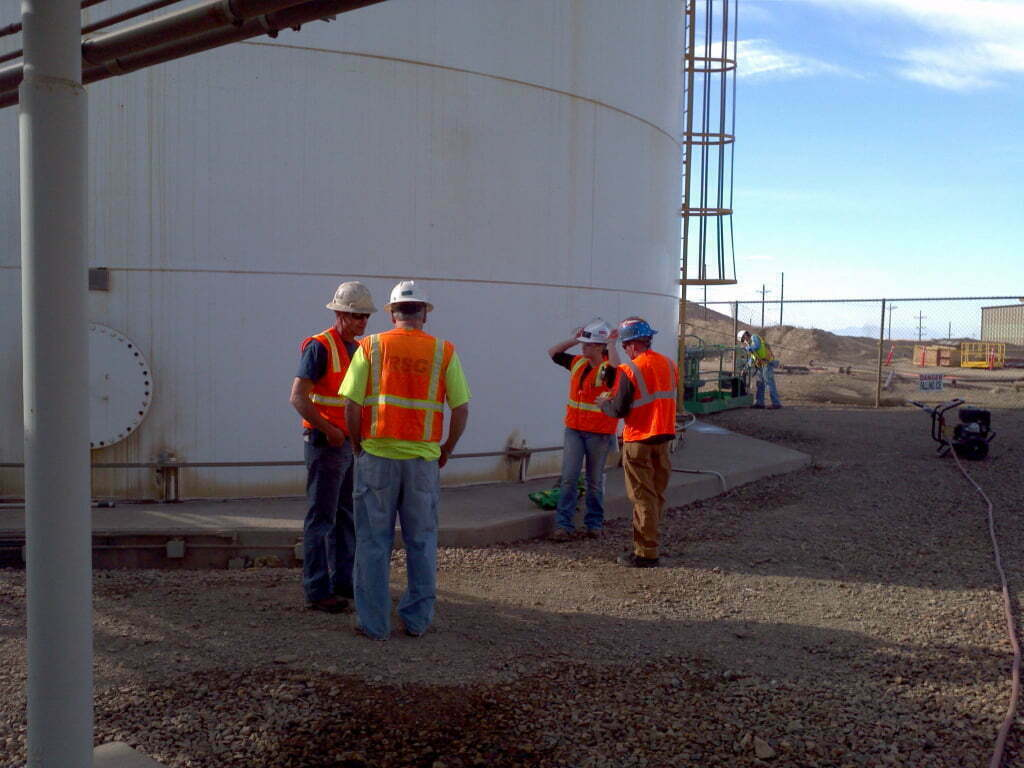 air separation unit workers