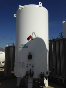 liquid nitrogen tank decal